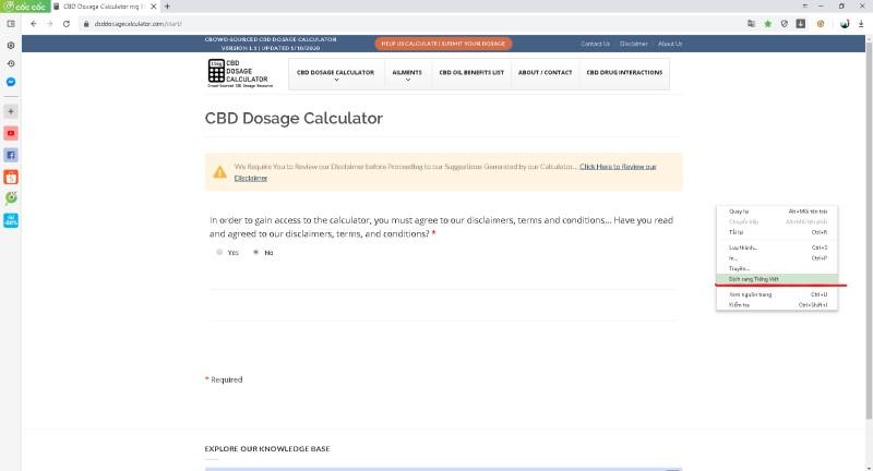 Tìm hiểu về liều lượng Cbd bạn nên dùng